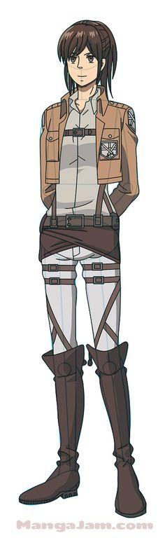How to Draw Sasha Blouse from Attack On Titan – Best Art images in 2019 Attack On Titan Hoodie, Attack On Titan Anime, Anime Drawings Sketches, Cool Sketches, Attack On Titan Aesthetic, Anime Character Drawing, Popular Manga, Anime Costumes, Levi Ackerman