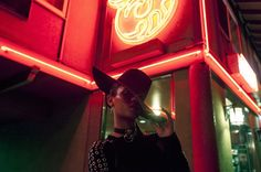Great series by Los Angeles born and raised photographer Nikko La Mere. More photography inspiration Visit his website Night Street Photography, Portrait Photography, Fashion Photography, Neon Light Art, Neon Girl, Midnight City, Night Portrait, Portrait Ideas, Neon Nights