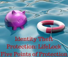 Identity Theft Protection LifeLock Five Points of Protection#ad #LifeLocksafety