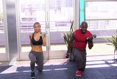 [01:25] Knee Walks with Bicep Curls [02:40] Swim Man [03:44] Bent Over Row [05:13] Workout Summary/ Recommendation Total Body Workout with Dolvett Quince from Star Fit is an exclusive look at 3 effective total body-toning exercises that are designed to build muscle, burn fat and sculpt lean and shapely arms, legs, glutes, and abs. Strengthen … Continued