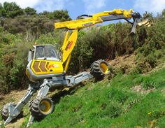 Menzi Mucker excavator-awesome tool