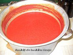 Suc de rosii - Bunătăți din bucătăria Gicuței Canning, Banana