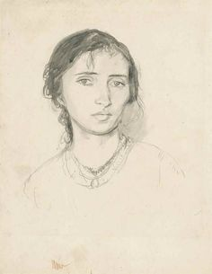 Gwen John , Portrait of Dorelia Art Photography Portrait, Portraits, Gwen John, Drawing Expressions, Political Art, Post Impressionism, Portrait Inspiration, Drawing People, Sketches