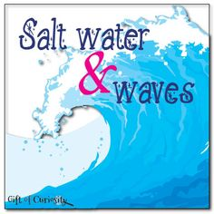 Learning about ocean salt water and waves #ocean #handonscience #handsonlearning || Gift of Curiosity
