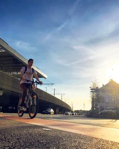 Summer feelings.  #deinze #sunset #bike #flanders #visitflanders #stapaf