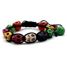 Pulseira Skull Colors Miscellaneous - Nineteen