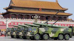 Disso Voce Sabia?: Vídeo, imagens: China mostra mísseis balísticos inovadoras nunca antes visto no desfile militar