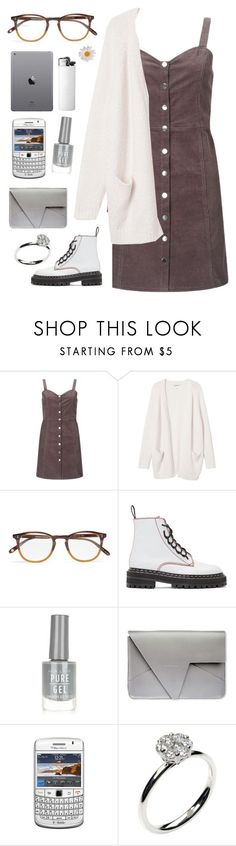 """""""Nerfd"""" by mode-222 ❤ liked on Polyvore featuring Miss Selfridge, Monki, Garrett Leight, Proenza Schouler, New Look and Annoushka"""