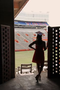 Graduation Photo Ben Hill Griffin Stadium, University of Florida Spring 2013 Photo Taken by Jenna Hyde