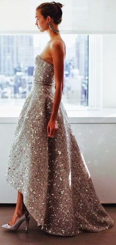 Love this for a modern gown