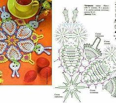 Crochet Diagram, Crochet Chart, Knit Or Crochet, Crochet Doilies, Doily Patterns, Crochet Patterns, Pineapple Crochet, Crochet Magazine, Vintage Books