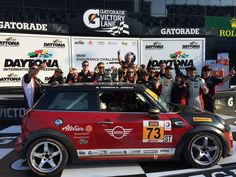 From underdogs to front runners, the MINI John Cooper Works Racing Team just proved how to Defy Labels. Congratulations to the team for placing in the first CTSC race of the season! Mini Usa, John Cooper Works, Front Runner, Racing Team, Victorious, Bmw, Runners, Congratulations, Mini Coopers
