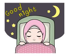 LINE Creators' Stickers - Lovely Hijab Girl Animation Example with GIF Animation Good Night Gif, Night Night, Emoji People, Eid Greetings, Islamic Cartoon, Anime Muslim, Hijab Cartoon, Islamic Girl, Islamic Phrases
