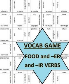 This is a partner activity that helps students practice their vocabulary. Cut the puzzle into square and place into mini ziplocs. Give each pair of students their puzzle and tell them to put the pieces together by matching the Spanish word to the English word. Pieces that have a blank side are the corners or sides of the puzzle. Maybe match vocabulary words to synonyms or antonyms??