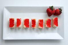 Strawberry Shortcake Jello Shots