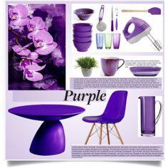 purple kitchen decor - Purple Kitchen Decor