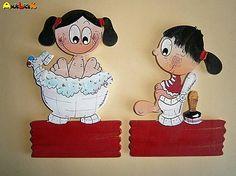 anjelicek / Menovka - WC a kúpeľňa Mickey Mouse, Disney Characters, Fictional Characters, Handmade, Art, Art Background, Hand Made, Kunst, Performing Arts