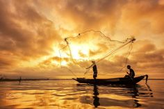 Fisherman by Anek2910  4reigndestinations.tumblr.com #Travel #people