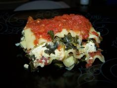 Vegan lasagna = automatically DF