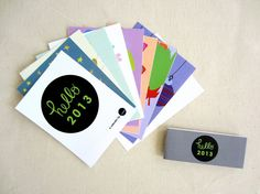 Hello 2013 Calendar / Designed by Jaclyn