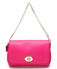 Look at this Coach Cardinal Leather Signature Mini Ruby Crossbody Bag on #zulily today!