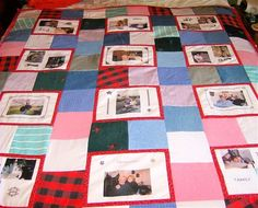 memory quilts from clothing | How to personalize gifts - Memorable gifts with a personal touch with ...