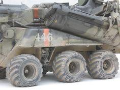 https://flic.kr/p/3v29m7 | Raktraktor | Missile tubes in transport mode.