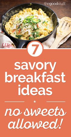 Easy breakfasts without all the sugar!