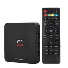 Best eu Docooler V11 Android 6.0 TV Box KODI 16.1 RK3229 2G + 8G from Tomtop.com, various discounts are waiting for you.