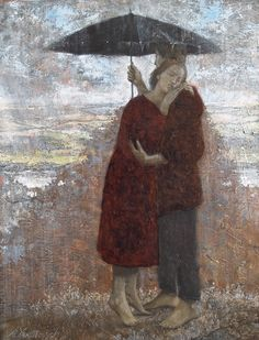 "journalofanobody:    ""it was my destiny to love and say goodbye."" — Pablo Neruda (Still Another Day)  [PAINTING by Anton Yakutovych]"
