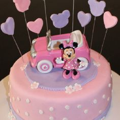 This is the cake I'm making for Avery's birthday (plus adding a tier)