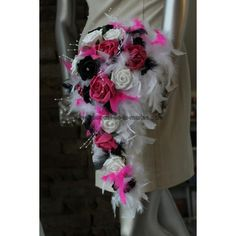 D Coration Mariage Th Me Noir Et Fuchsia Novembre 2014 On Pinterest Mariage Roses And Bouquets