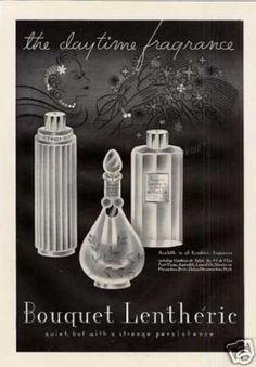 Hand drawn perfume bottles.