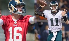 Re-evaluating Carson Wentz vs. Jared Goff: Choice already seems obvious = There are a lot of scouts in and around the NFL looking over their shoulders right now trying to explain how in the world they possibly thought Jared Goff was a better pro prospect than Carson Wentz.  As the.....