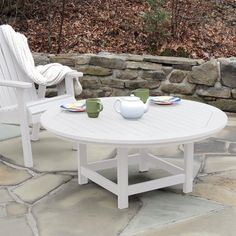 Discover the absolute best beach themed and coastal coffee tables for your beach home. Complete your beach living room furniture with a beach coffee table. Green Furniture, Coastal Furniture, Home Furniture, Beach Living Room, Home Living Room, Sustainable Furniture, Outdoor Tables, Outdoor Decor, Round Coffee Table