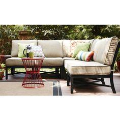 Elegant ($559) Montclair 4 Piece Seating Group | Wayfair | Patio | Pinterest | More  Patios Ideas