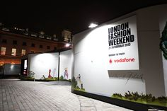 #LFW 2013 #Outdoorbranding & #Eventbranding #enigmavisual