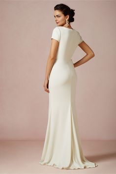 Simple Ceremony Dress: Isis Gown - BHLDN