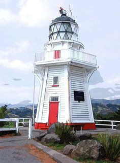 Lighthouse - Akaroa NZ
