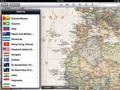 World Atlas HD PC magazines list of 100 best iPad apps for all - total different list AND it looks like fewer are free