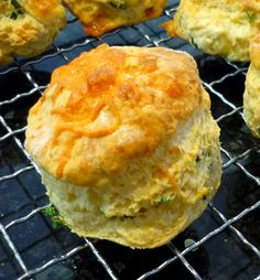 Cheese Scones - great with soup and casseroles, or just as is.