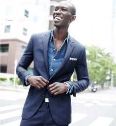 J.Crew Ludlow suit. Men's Jewellery #mensfashion #mensjewellery www.urban-male.com