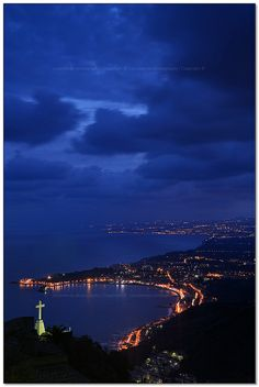 Sicily at night