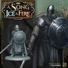 Game Of Thrones Weapons, 28mm Miniatures, Fire Table, Table Games, Medieval, Darth Vader, Swords, Ice, Fantasy