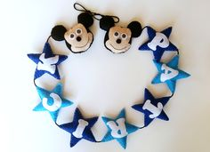 Felt Banner, Banners, Mickey Mouse, Facebook, Banner, Posters, Bunting