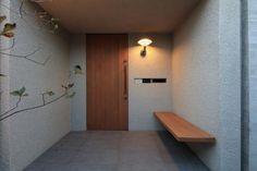 3259 Japanese Home Decor, Japanese Interior, Japanese House, House Entrance, Entrance Doors, Interior Architecture, Interior And Exterior, Door Design, House Design
