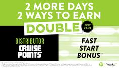 Now is the time to join my team!!! DOUBLE cruise points & DOUBLE bonus!!! www.lisafisherwrap.itworks.com