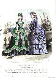 Le Moniteur de la mode 1870 July