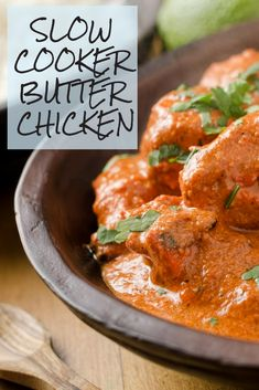 Easy slow cooker butter chicken delicious recipes to share - Slow Cooker Tikka Masala, Slow Cooker Curry, Healthy Slow Cooker, Slow Cooker Recipes, Cooking Recipes, Healthy Recipes, Crockpot Meals, Diet Recipes, Slow Cooking