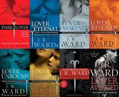 Black Dagger Brotherhood Novels. One of my all time FAVORITES!